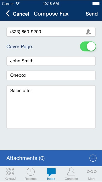 Onebox® – business phone app screenshot-4