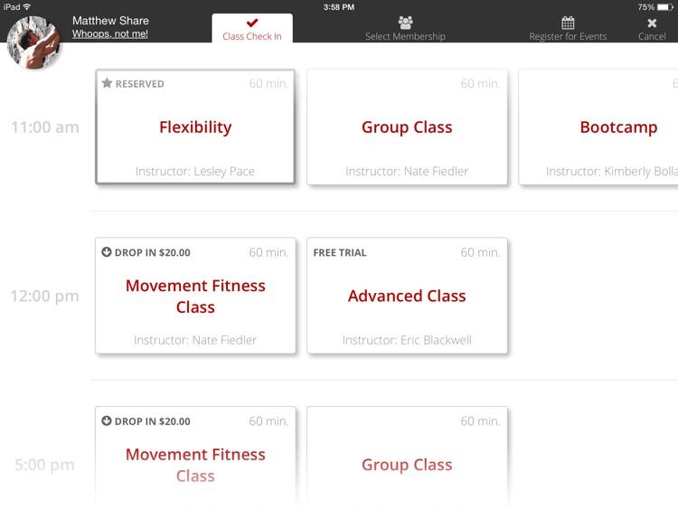 Zen Planner Kiosk App for Fitness Business Owners