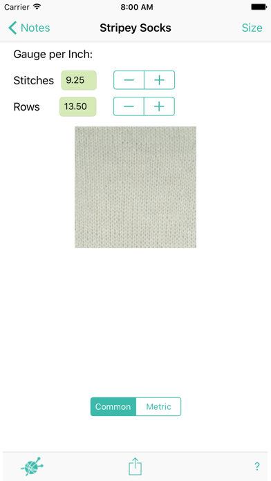 Sockcalc review screenshots