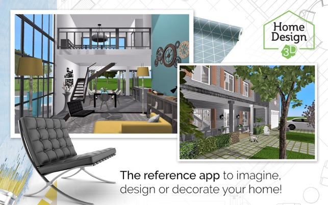 Home Design 3D GOLD On The Mac App Store