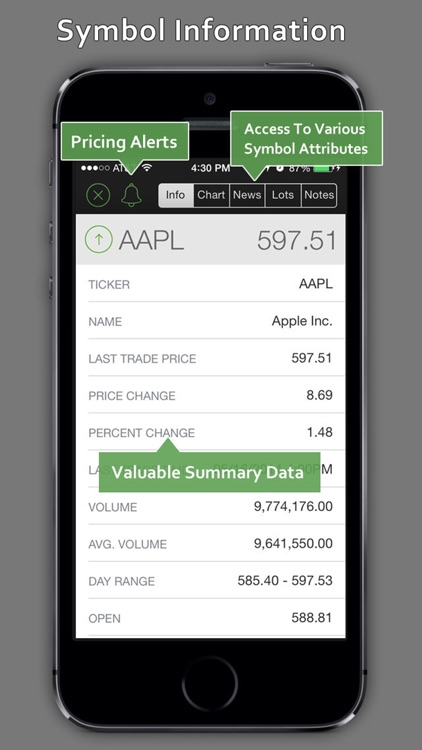 StockWatch - Portfolio Tracking & Stock Quotes screenshot-3