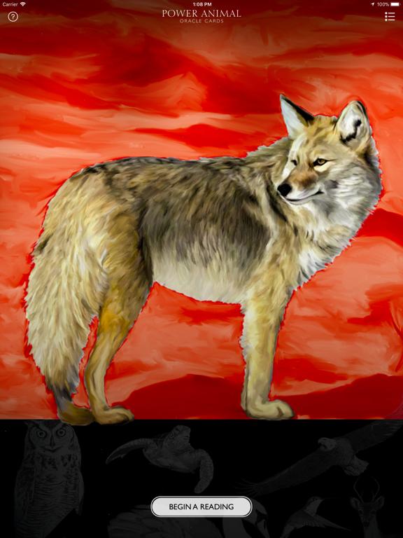 Power Animal Oracle Cards screenshot 6