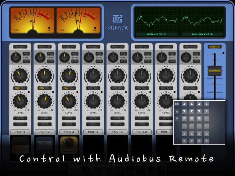 MiMiX - Mixer for Audiobus screenshot-3