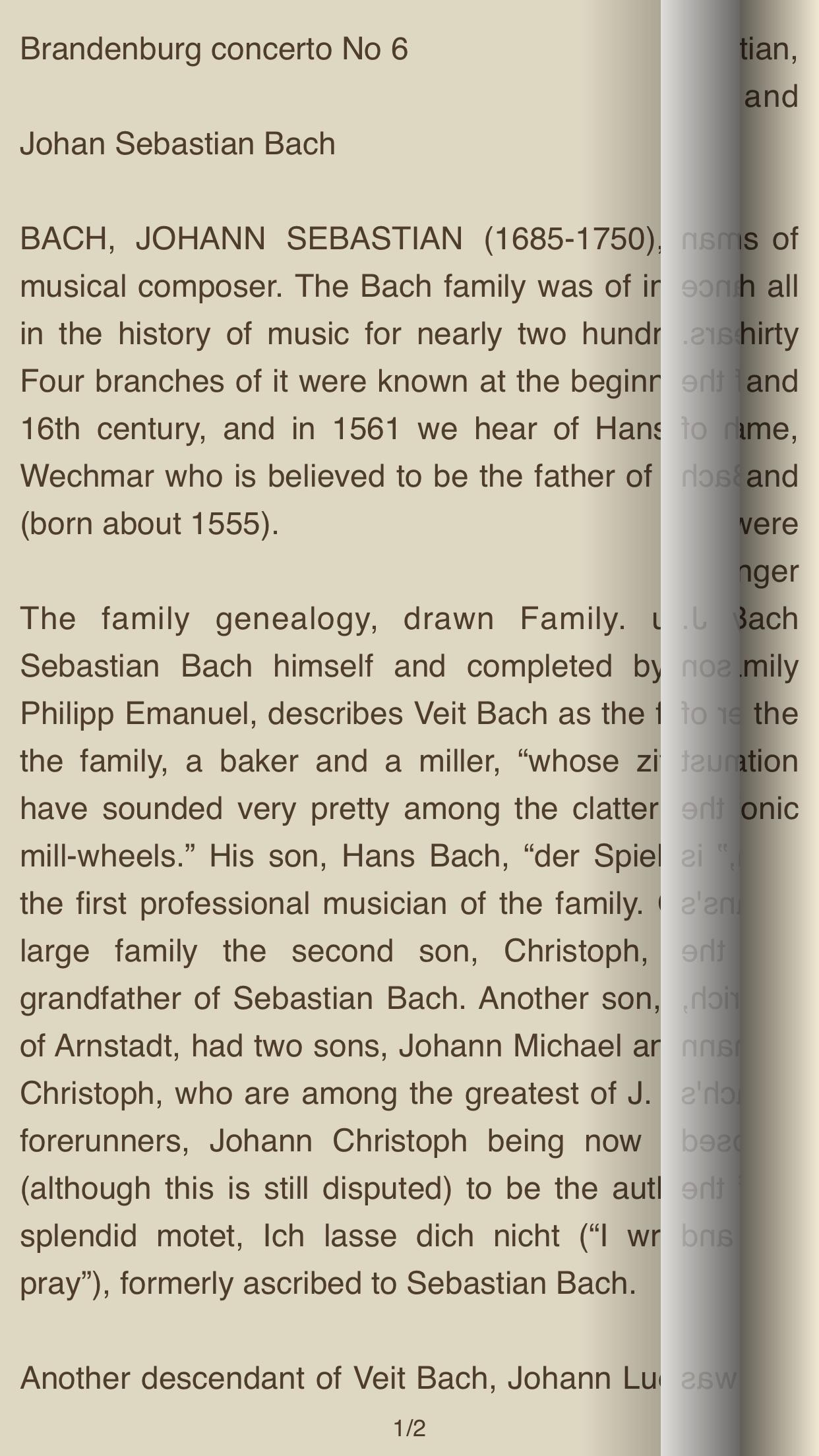 Great Masters of Classical Music – AudioEbook Screenshot