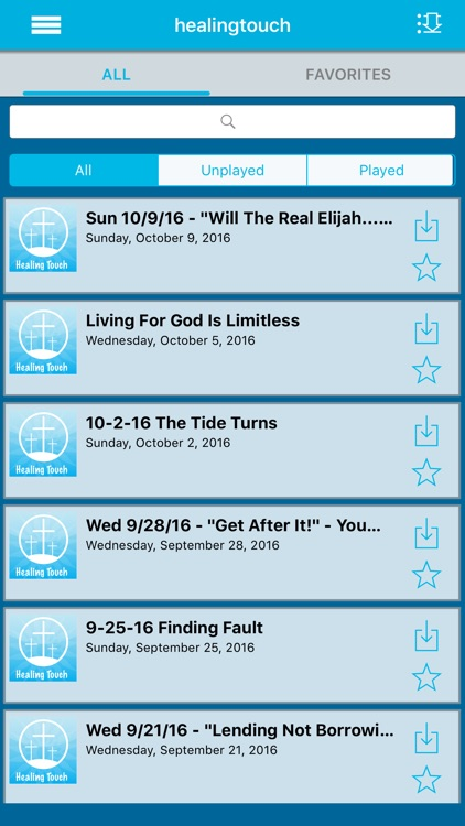 Healing Touch Christian Podcast App