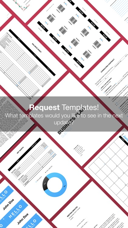 Business Templates for Pages screenshot-4