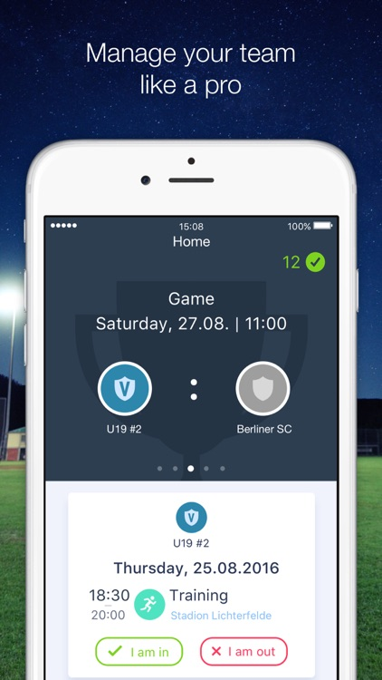 HelloCoach. We make sport team management easy