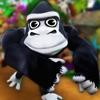 动物园 搞笑 酷跑 的 超级 猴子