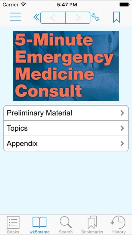 Rosen &Barkin's 5-Minute Emergency Medicine Consult Standard Edition, 5th Edition