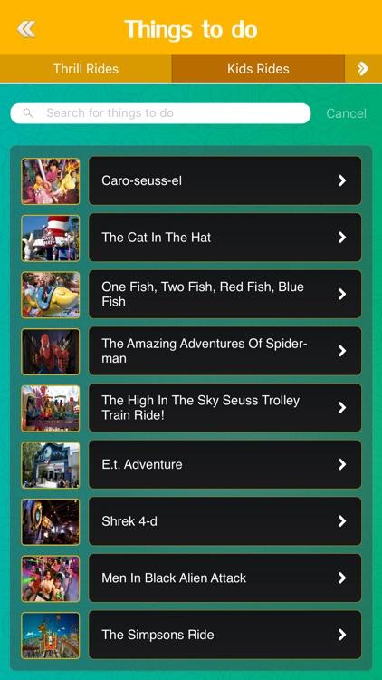 Best App for Islands of Adventure
