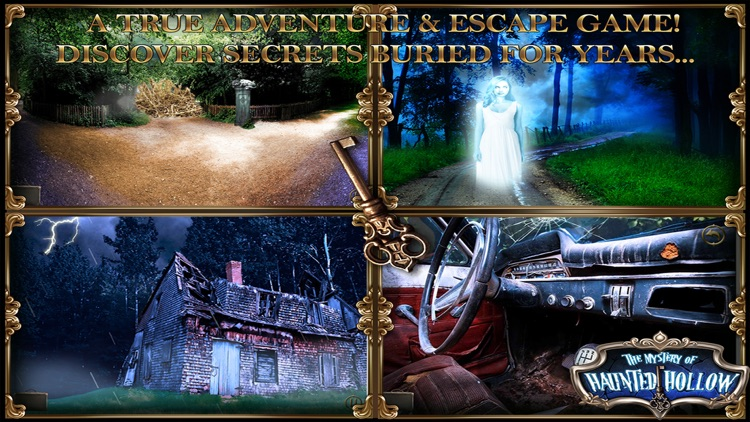 Mystery of Haunted Hollow: Point Click Escape Game screenshot-3