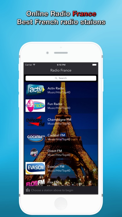 Online Radio France - The best French stations for free & Music