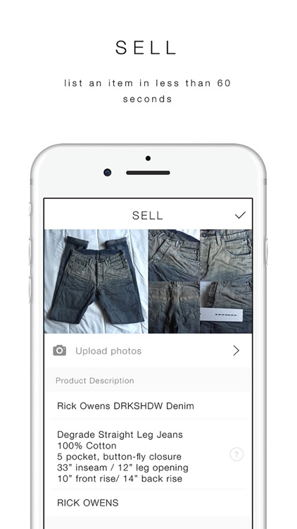UNIFORM | Buy and Sell Men's Clothing