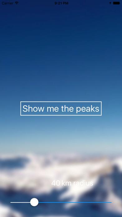 Peak View screenshot one