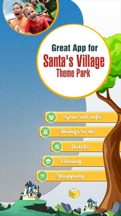 Great App for Santa's Village Theme Park