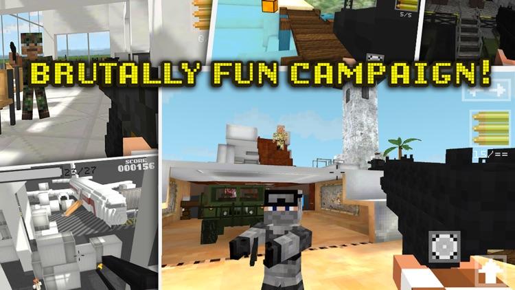 Block Gun Pixel Wars 3D: Team Strike screenshot-3