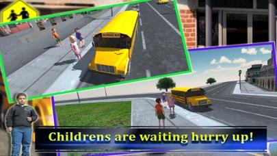 スクールバスの運転手の3D 2016:最高の無料シミュレーションゲームのおすすめ画像3