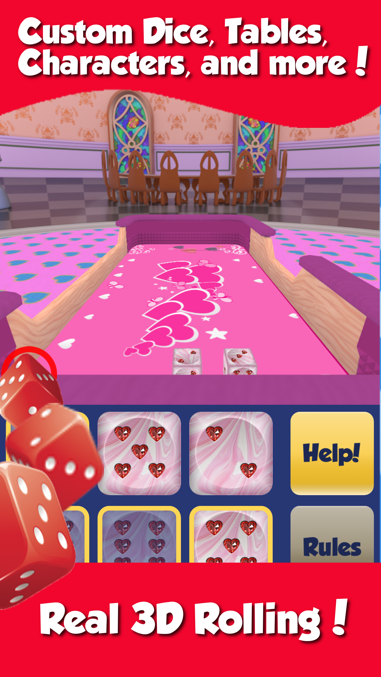 Dice World - 6 Dice Games Screenshot