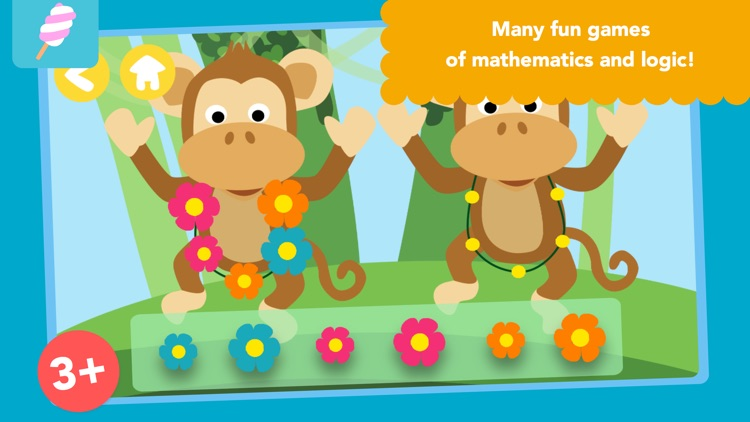 Math Tales - The Jungle: Rhymes and maths for kids screenshot-0