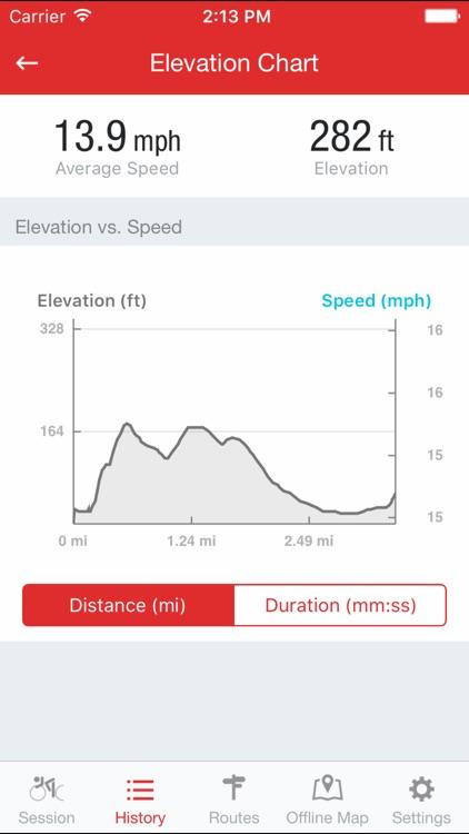 Runtastic Road Bike GPS Cycling & Ride Tracker screenshot-3