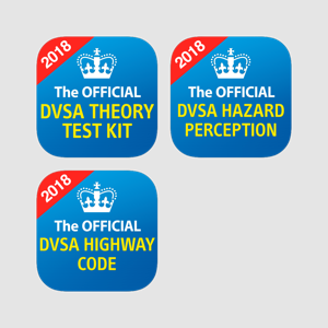 The Official DVSA Theory Test Kit, Hazard Perception and Highway Code app bundle app