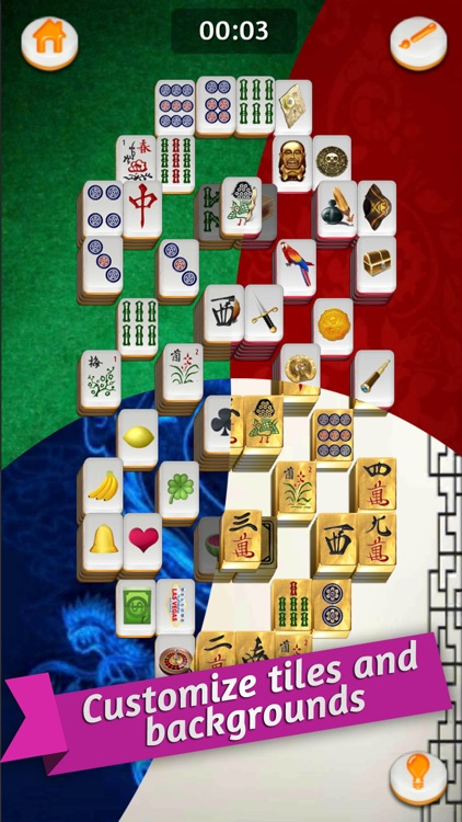 Mahjong Gold Solitaire screenshot-1