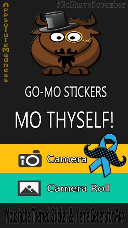 Go Mo Free Stickers & Meme Generator screenshot-0