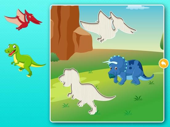 Скачать игру Динозавры: Игры пазлы для детей, малышей бесплатно