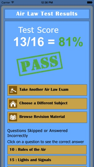 EASA PPL Exam Tutor on the App Store