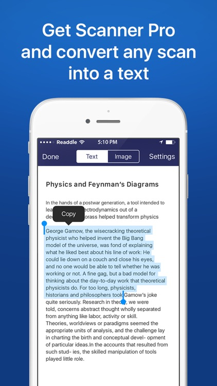Scanner Pro - PDF document scanner with OCR screenshot-4