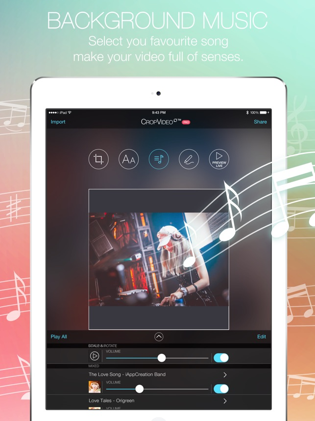 Crop video square editor on the app store crop video square editor on the app store ccuart Image collections
