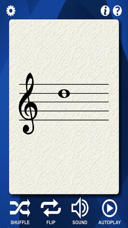Mandolin Notes Flash Cards