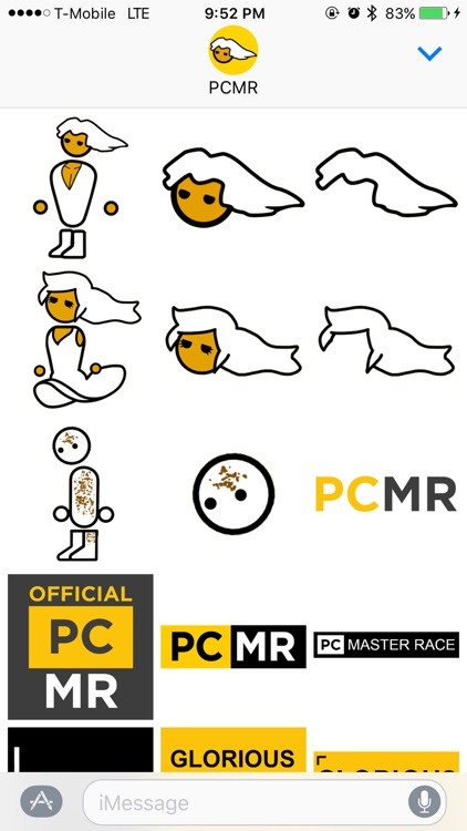 PCMR Stickers