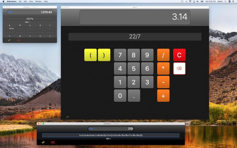 Kalkulators Screenshot