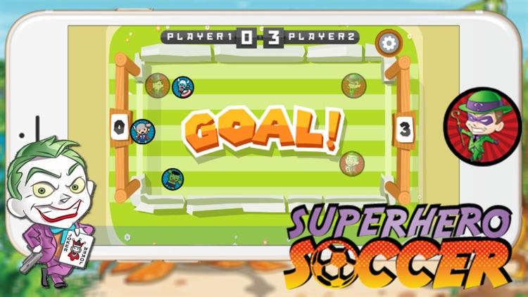 Super Hero Soccer - Kick Goal Sport Games for Kids screenshot-3