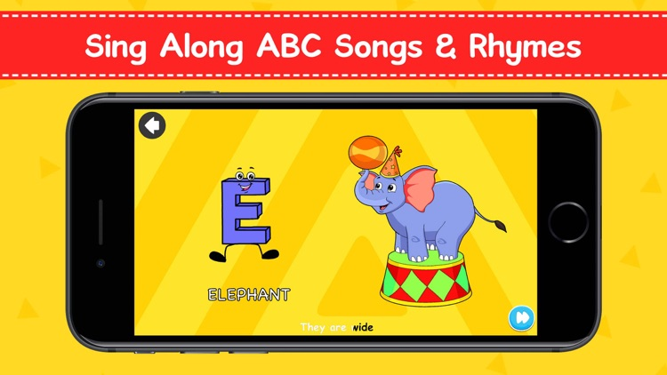 ABC Songs, Games & Phonics screenshot-3