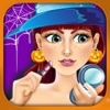 Halloween Salon Spa Make-Up Kids Games Free