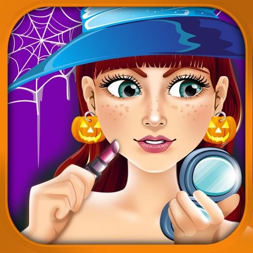 Halloween Salon Spa Make-Up Kids Games Free