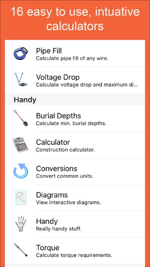 Electrical calc on the app store electrical calc on the app store greentooth Gallery