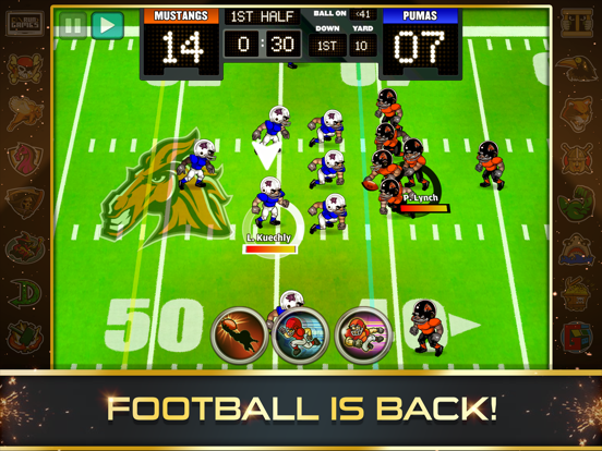 Football Heroes PRO 2017 - featuring NFL Players-ipad-0