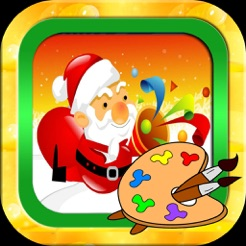 santa claus markers and christmas coloring games 4