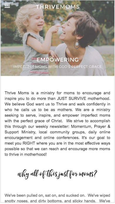 Thrive Moms app image