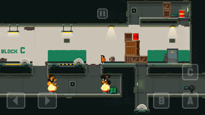 Screenshot from Prison Run and Gun