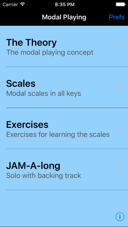 iImprov - Modal screenshot-0