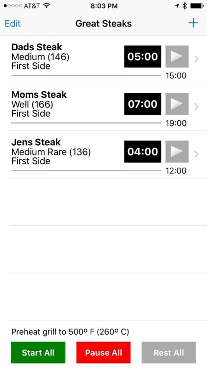 Great Steaks   Steak Timer