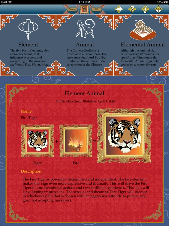 iYinYangHD - Chinese astrology