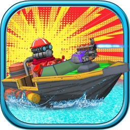 Jet Boat Fast Attack - Free 3D Water War Racing