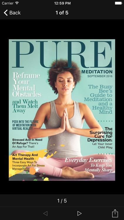 Pure Meditation Magazine