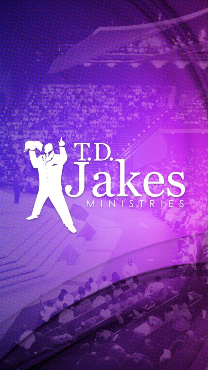 T.D. Jakes Ministries Screenshot
