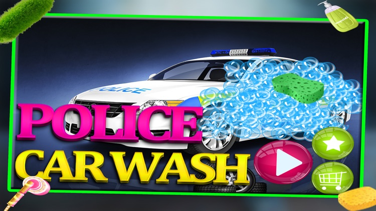 Police Car Wash Gas Station - Little Kids Fun Game screenshot-4